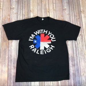 Red Hot Chili Peppers Band Tee Tour Raleigh 2012